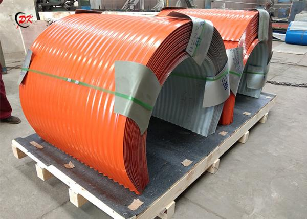 Quality Simple Operation Conveyor Belt Covers / Cleated Conveyor Belt Hoods for sale