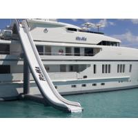 China Customized Inflatable Water Sports, Inflatable Water Slide For Yacht Ship on sale