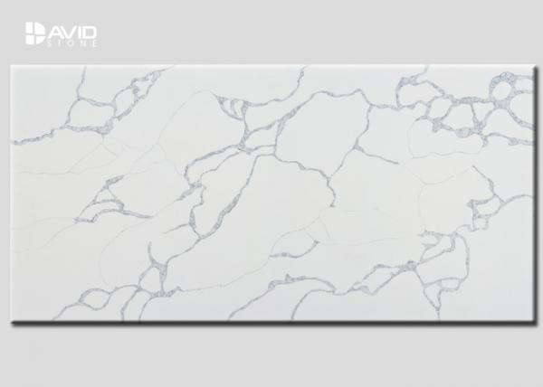 Quality Custom High Hardness Artificial Quartz Slab Class A Crack Resistant for sale