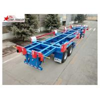 China 3 Axles Terminal Trailer High Tensile Low Alloy Steel wholesale