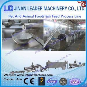 China automatic dog food making machine pet animal food processing line wholesale