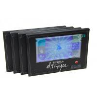 China A-frame video screen stand LCD video tablet with 7 inch HD video screen tablet wholesale