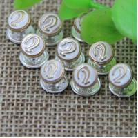 China 2018 Spring new pink color zinc alloy hardware 7 mm ear pattern bang nail rivets for clothing luggage on sale