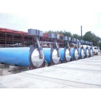 Aerated Concrete Block AAC Autoclave Steam Equipment For Glass Industrial
