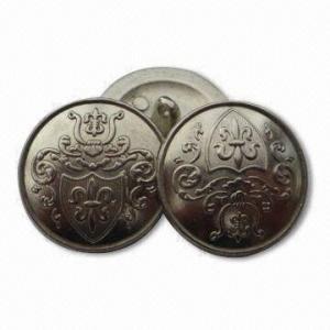 China os botões ligas de zinco do metal de 15mm em vários tamanhos, projetos personalizados/logotipos são aceitados wholesale