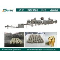 China Continuous Pet Food Extruder Chewing Treat Processing Line , Dog Snacks Making Machine wholesale