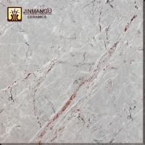 China Hot sale Foshan cheap price 60*60 light gray Full Polished Glazed porcelain floor tile wholesale