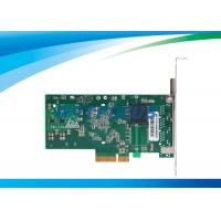 China PCI Express Network Card Dual Ethernet Ports 32°F - 131°F Copper Connector wholesale