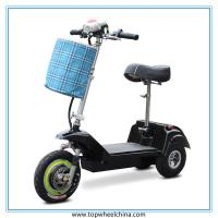 China China 3 Wheel zappy scooter for old people disabled 300W motor electric scooters wholesale