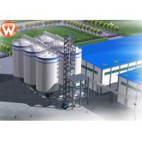 China Feed Pellet Plant Auxiliary Equipment Livestock Feed Silo SGS Approval wholesale