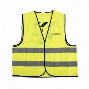 China Promotional Reflective Safety Vest, Waterproof wholesale