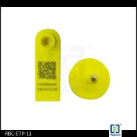 China Goat RFID Animal Ear Tags , Two Pieces Livestock Tracking Tag ETP11 wholesale