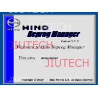 China Hino Reprog Manager V3.12 / Hino Diagnostic Software For Ecu Engine Progamming wholesale