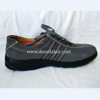 China PU Sole Oil Industrial Labor Protective Men and Women Safety Shoes wholesale