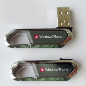 China Carabiner USB flash drive 8GB wholesale