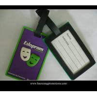 China Hot sale Lovely and Colorful Travel Using Cheap Custom PVC Luggage Tag wholesale