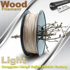 China 0.8KG / roll 3D Printer 1.75mm Wood Filament Material wholesale