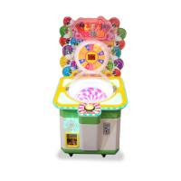 China Lollipops Candy Gift Vending Machine Coin Operated Games Arcade Cartoon Candy Amusement Game Machine for kids wholesale