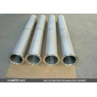 China Stainless steel Gas liquid separator Cartridge Filter Element for solid / liquid removing wholesale