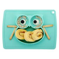 China Portable Baby Plates for Toddlers and Kids, BPA-Free FDA Approved Strong Suction Plates for Toddlers wholesale