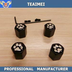 China Custom Metal Car Tire Valve Caps Auto Logo For Automobile Wheel wholesale