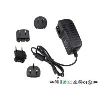 China 18W Interchangeable Plug Power Adapter 12V 1.5A Switching AC/DC Adapters wholesale