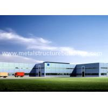 China Пре собранные здания структуры металла покрашенные с поверхностным покрытием Хемпел wholesale