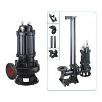 China Cold Rotor Stator Cast Iron Sewage Pump OEM Accepted Easy Installation wholesale