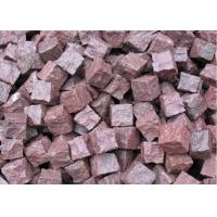 China Granite Outdoor Natural Paving Stones For Garden / Patio Red Porphyry wholesale