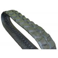 China 450 X 84 X 56 Undercarriage Rubber Tracks Good Tensile Strength With Turf Pattern on sale
