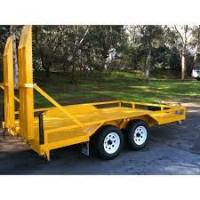 Indespension 8x5 Plant Equipment Trailer , Construction Equipment Hauling Trailers