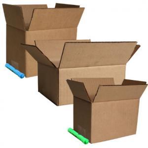 China Corrugated Cardboard Mailing Boxes , Cardboard Storage Boxes CMYK Printing wholesale