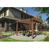 China DIY plastic wooden pergola construction for your garden 16.4ft.*10ft.*10ft.(OLDA-5022) wholesale