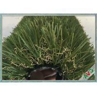 Long Life Garden Artificial Grass Beautiful Color No Abrasion Garden Fake Grass