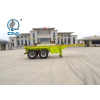 Buy cheap 2400X2500X1650mm Dimenssion 2 Axles Fuwa brand 13T * 2pcs Skeletal Container from wholesalers
