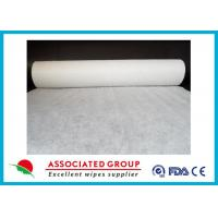 China Plain Disposable Spunlace Nonwoven Fabric Biodegradable 200gsm Weight wholesale
