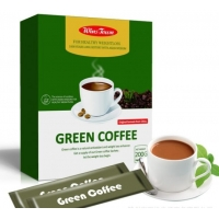 China Low Carb Coffee Slimming Weight Loss Green Coffee 10g*20 bags on sale