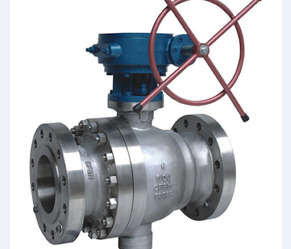 Quality Metal Seated Cast Steel Ball Valve / Pneumatic Actuated Ball Valve for sale