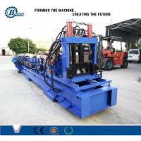 China Post Cutting Automatic System C Shape Channel C Purlin Roll Forming Machine wholesale