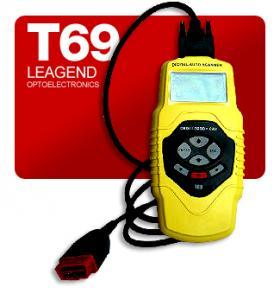 China OBD2 & EOBD & JOBD compliant vehicles diagnostic trouble codes for cars-T69 on sale