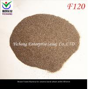 China Spherical Pellets Brown Aluminum Oxide Blast Media Refractory Materials wholesale