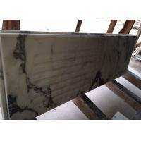 China Modern Prefab Kitchen Countertops Arabescato White Marble OEM Service wholesale