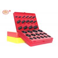 China Durable O Ring Kit Box - G AS568 Standard 30 Dimensions 382 Pieces NBR 70 Black wholesale
