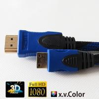 China Certificated cable/cabo/cavo,kable Mini HDMI to HDMI with braid support HDMI 1.4 Version wholesale