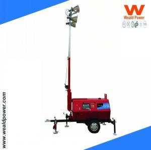 China FUZHOU WEALD MOBILE TRAILER TOWER LIGHTING wholesale
