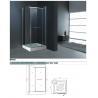 China Multifunctional Hi - Fi System Star Background Light Framed Glass Common Shower Room  wholesale