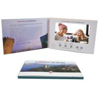China Promo Advertising A5 7'' Digital Catalogue Card Lcd Screen Video Greeting Brochure For Wedding Invitation wholesale