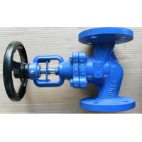 China Bronze Trim Cast Iron Flanged Globe Valve Nodular DN65 PN16  Part No. DIN 3202-F1 wholesale