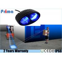 China Cree Blue Spot Forklift LED Warning Lights , 8W High Intensity Safety Light wholesale