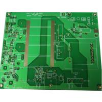 RF Remote Control Transmitter Rogers PCB , 0.508mm TG135 Customized green pcb Board